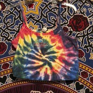 Tops - Vintage tie dye cropped tank